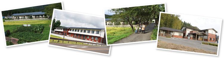 環境豊かな滋賀県の小谷と塩津に立地しています。